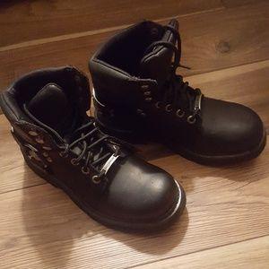Harley Davidson boots, NWT